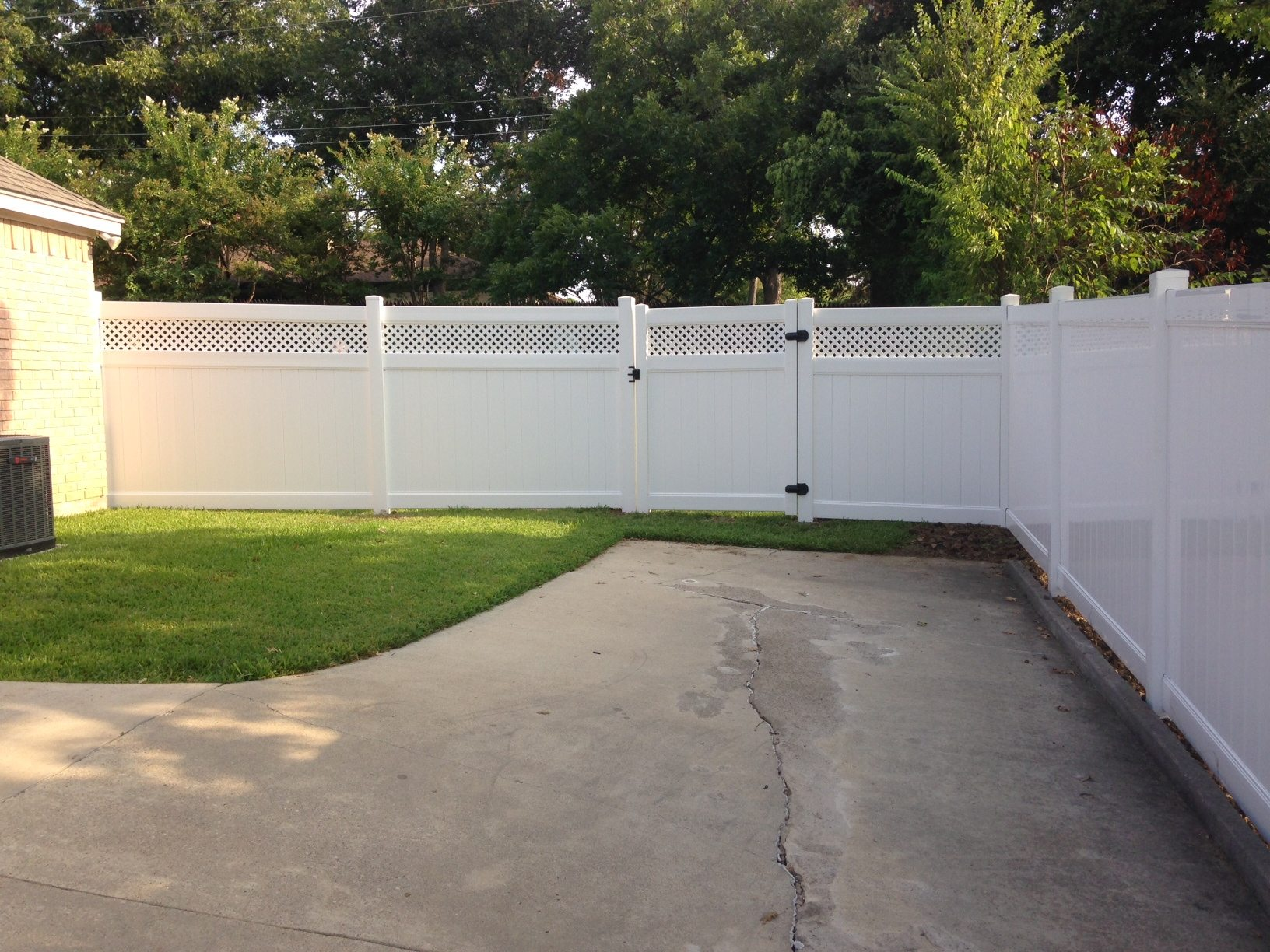Durable Vinyl Fence Options Installed By Buzz Custom Fence
